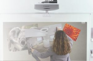videoprojecteur tactile