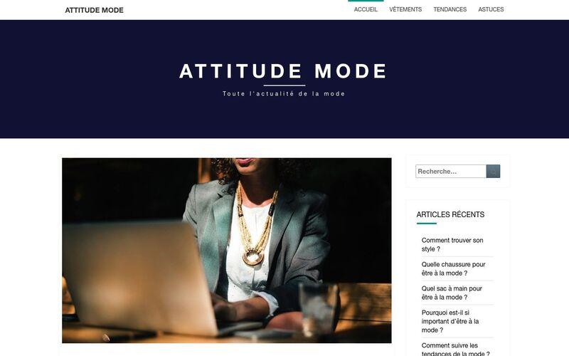 Attitude mode - Toute l'actualité de la mode